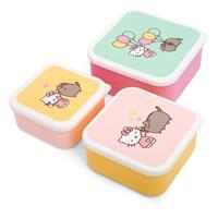 Thumbs Up Pusheen Snack Box Set Hello Kitty