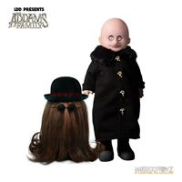 Mezco Toys The Addams Family Living Dead Dolls Fester & It 13 - 25 cm