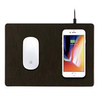 Minibattt Powerpad - A Mouse Pad With A Qi Wireless Charger Zwart