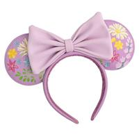 Loungefly Disney by  Headband Minnie Embroidered Flowers