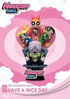 Beast Kingdom Toys The Powerpuff Girls D-Stage PVC Diorama Have A Nice Day Standard Version 15 cm