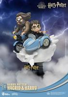 Beast Kingdom Toys Harry Potter D-Stage PVC Diorama Hagrid & Harry Standard Version 15 cm