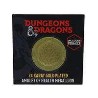 FaNaTtik Dungeons & Dragons Medallion Amulet Of Health Limited Edition (gold plated)