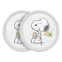 Geda Labels Peanuts Plate Cute & Cuddly 2-Pack