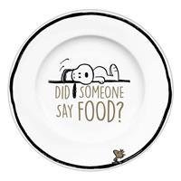 Geda Labels Peanuts Plate Did Someone Say Food