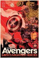 Pyramid Avengers Golden Age Hero Propaganda Poster 61x91,5cm