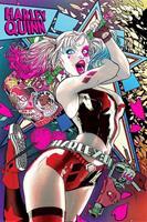 Pyramid Batman Harley Quinn Neon Poster 61x91,5cm