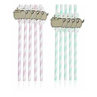 Thumbs Up Pusheen Party Straw 10-Pack The Cat