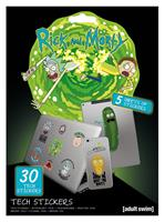 Pyramid International Rick and Morty Tech Sticker Pack Adventures (10)