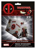 Pyramid International Marvel Tech Sticker Pack Deadpool (10)