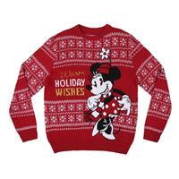 Cerdá Disney Knitted Christmas Sweater Minnie Size XL