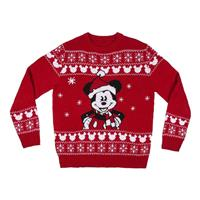 Cerdá Disney Knitted Christmas Sweater Mickey Size M