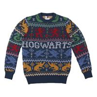 Cerdá Harry Potter Knitted Christmas Sweater Hogwarts Size L