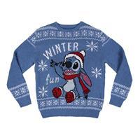 Cerdá Lilo & Stitch Knitted Christmas Sweater Stitch Size XL