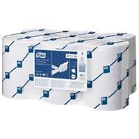 Tork Handdoekrol  2laags wit 143m voor elektronische dispenser voor elektronische dispenser (pak 6 stuks)