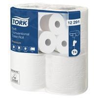 Tork Toiletpapier  T4 12291 Premium 2laags 198vel 48rollen wit