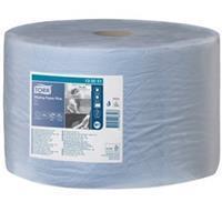 Tork Wiping Paper Plus Roll Blue W1 130051