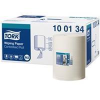 Tork Multirol M standaard handdoek 1 laags. wit. velbreedte 24.5 cm (doos 6 x 275 meter)