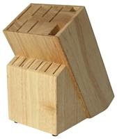 Houten messenblok  RAF rubberhout