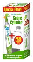 Sodastream Promo pack I CO2-cilinder plus Cool-fles -