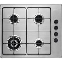 Zanussi ZGH62424XA gaskookplaat met krachtige wokbrander