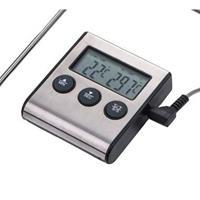 Digitale keukenthermometer - inclusief timer, alarmfunctie en batterij