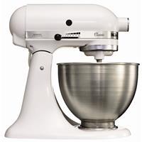 kitchenaid K45 mixer-keukenrobot wit 4,28ltr