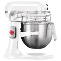 kitchenaid professionele mixer-keukenrobot wit 6,9ltr