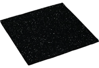 Scanpart Anti Trillingsmat wasmachine zwart 60 x 60 x 0.8 cm