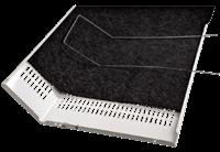 xavax Vet-/koolstoffilter Voor Dampkap 2 Stuks 47x 57 Cm