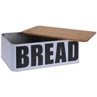Excellent Houseware EH Broodtrommel Metaal