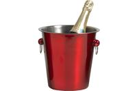cosy&trendy Champagne emmer Ø 21 cm - Rood