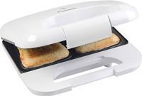 bestron ASM750W sandwichmaker (Kleur: wit)
