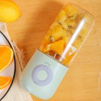 Mini Portable Usb Juice Machine Multifunctioneel Elektrisch Opladen Huishoudelijke Juicer (Groen)