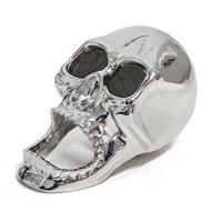Balvi Flesopener The Skull 8 Cm Zink Zilver