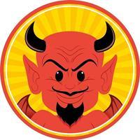 10x Halloween Onderzetters Duivel