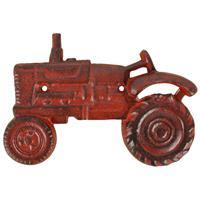Esschert Design Flessenopener Tractor 20 Cm Gietijzer Rood