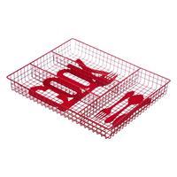 Decopatent Bestekbak 4 Vaks - Cook - Besteklade Organizer - Bestek