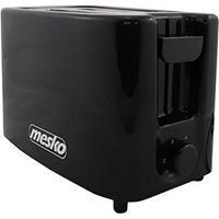 Mesko Ms 3220 - Broodrooster Voor 2 Sneden - Zwart