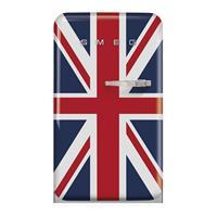SMEG FAB10LDUJ5 koelkast met vriesvak, linksdraaiend, blauw - UK vlag