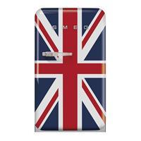 SMEG FAB10RDUJ5 vrijstaande koelkast met vriesvak, rechtsdraaiend, blauw - UK vlag