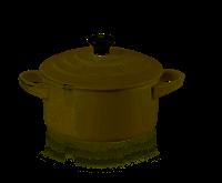 LE CREUSET Aardewerk - Mini Braadpan 10cm Meringue