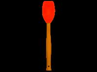 LE CREUSET Siliconen - Lepelspatel Premium Oranjerood