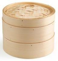 Ken Hom toommandje 2-delig Bamboe 20 Cm