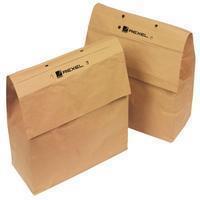 Rexel recycleerbare opvangzakken voor papiervernietigers 115 l, voor RLX20, pak van 50 zakken