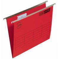 Elba Hangmap Verticfile Ultimate® Verticaal. A4. v-bodem. rood (doos 25 stuks)