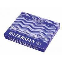 Waterman Inktpatroon  nr23 lang blauw/zwart