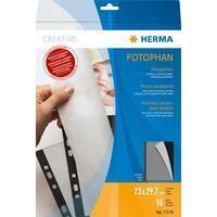 HERMA Photo cardboard 230x297 mm black 10 sheets (7576)