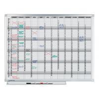 Legamaster Planbord  professional jaarplanner 90x120cm