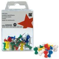 5star 5 Star prikbordspelden, ophangdoosje met 20 stuks